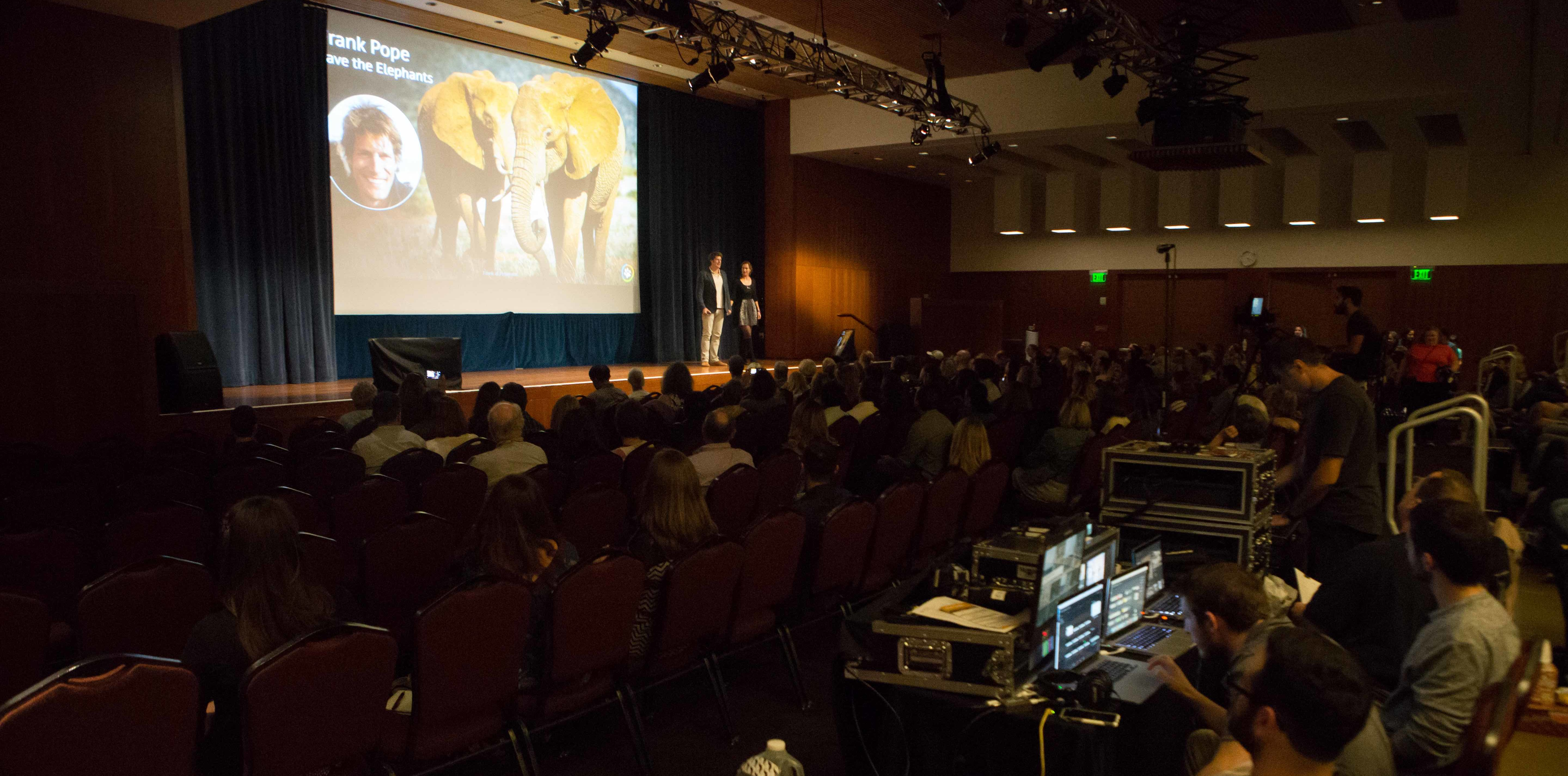 Audiovisual services for Conference in San Francisco
